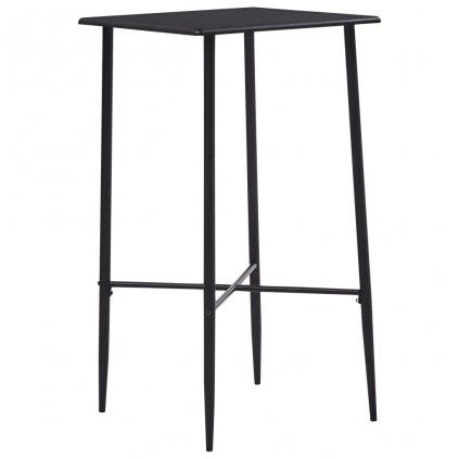 Barový stůl Sonoma - MDF - 60x60x111 cm | černý
