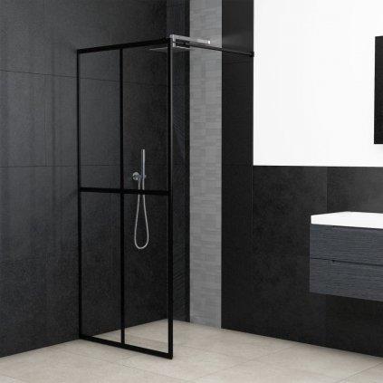 Průchozí sprchová zástěna - tvrzené sklo | 118x190 cm