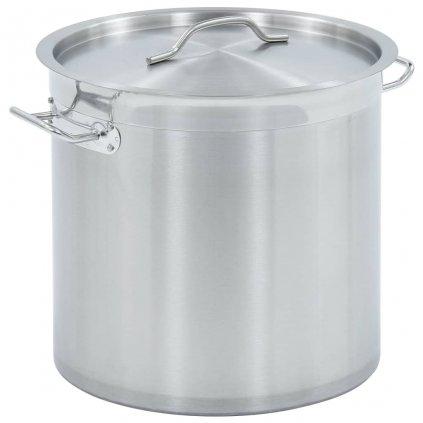 Hrnec na polévku 25l - nerezová ocel | 32 x 32 cm