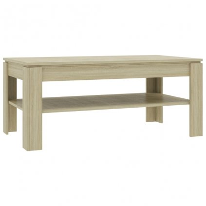 Konferenční stolek Script - dub sonoma | 110x60x47 cm