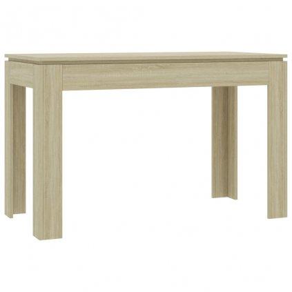 Jídelní stůl Clyde - dub sonoma - dřevotříska | 120x60x76 cm