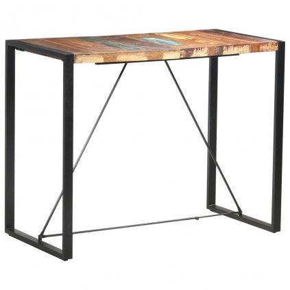 Barový stůl Howarth - 140x70x110 cm | masivní recyklované dřevo