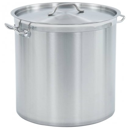 Hrnec na polévku 71l - nerezová ocel | 45 x 45 cm