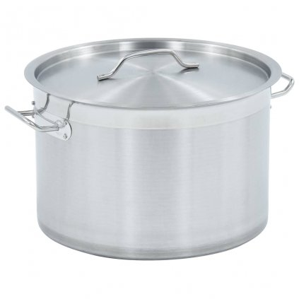 Hrnec na polévku 23l - nerezová ocel | 35 x 22 cm
