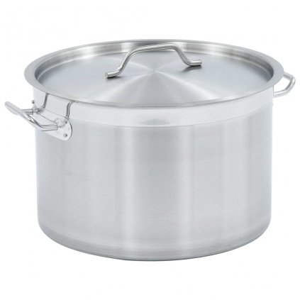 Hrnec na polévku 32l - nerezová ocel | 40 x 26 cm