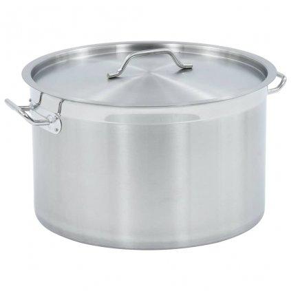 Hrnec na polévku 44l - nerezová ocel | 45 x 28 cm