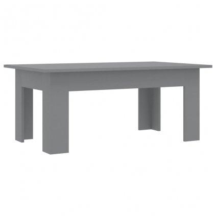 Konferenční stolek Bonds - šedý | 100x60x42 cm