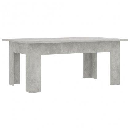 Konferenční stolek Bonds - betonově šedý | 100x60x42 cm