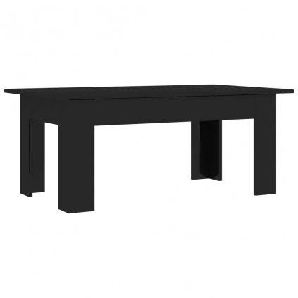Konferenční stolek Bonds - černý vysoký lesk | 100x60x42 cm