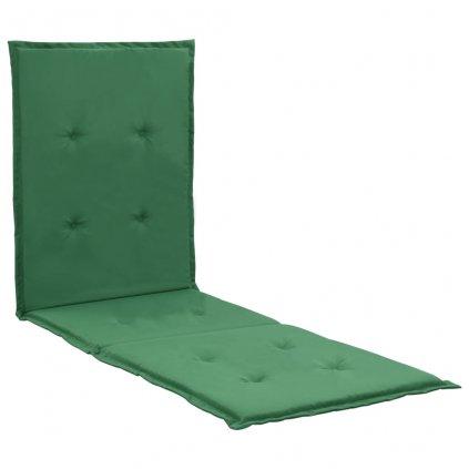 Poduška na lehátko - zelená   180x55x3 cm