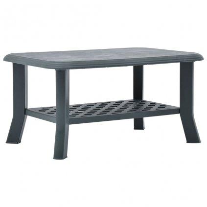 Konferenční stolek Elmos - zelený | 90x60x46 cm