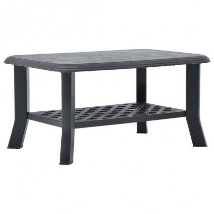 Konferenční stolek Elmos - antracitový | 90x60x46 cm