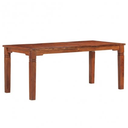 Jídelní stůl Burgh - masivní akáciové dřevo | 180 x 90 x 76 cm