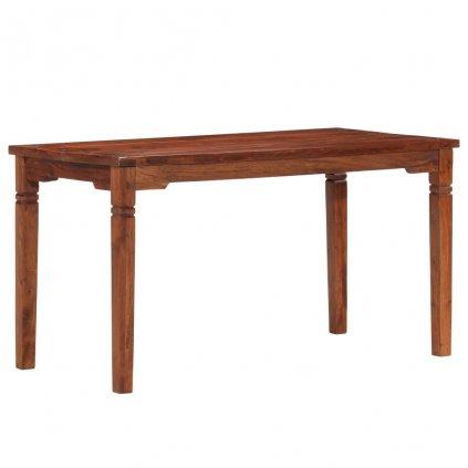 Jídelní stůl Burgh - masivní akáciové dřevo | 140 x 70 x 76 cm