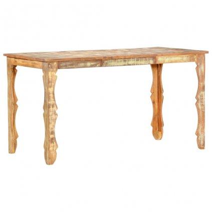 Jídelní stůl Recckls - masivní recyklované dřevo | 140x70x76 cm