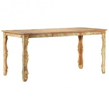 Jídelní stůl Recckls - masivní recyklované dřevo | 160x80x76 cm