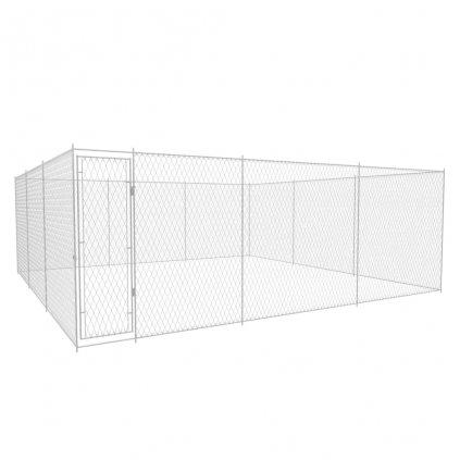 Venkovní psí kotec - pozinkovaná ocel   6x6x2 m