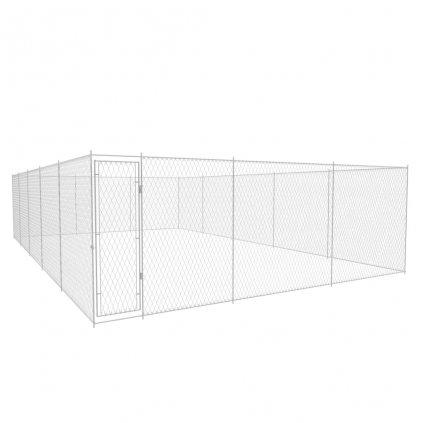 Venkovní psí kotec - pozinkovaná ocel   10x6x2 m