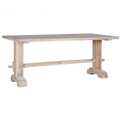 Jídelní stůl Jonnas - masivní teakové dřevo | 180x90x75 cm
