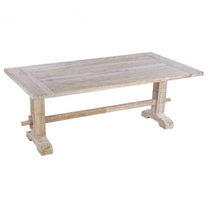 Jídelní stůl Jonnas - masivní teakové dřevo | 200x100x75 cm