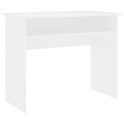 Psací stůl Fitzroy - dřevotříska - bílý | 90x50x74 cm