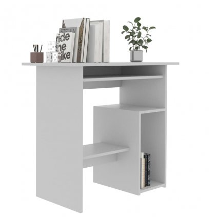 Psací stůl Till - šedý | 80x45x74 cm