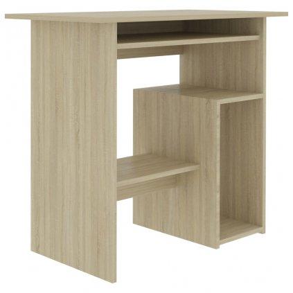 Psací stůl Keew - dřevotříska - dub sonoma | 80x45x74 cm