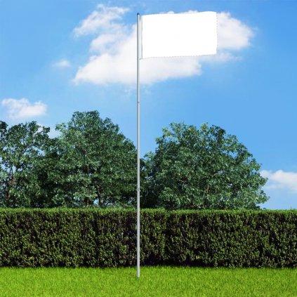 Teleskopický vlajkový stožár - hliník | 6 m