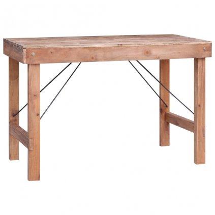 Jídelní stůl Inntent - masivní recyklované dřevo | 120x60x80 cm