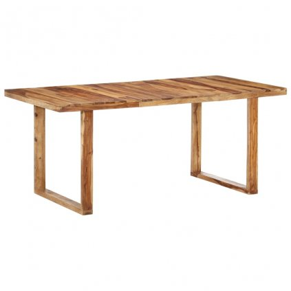 Jídelní stůl Potters - masivní sheeshamové dřevo | 180x90x76 cm
