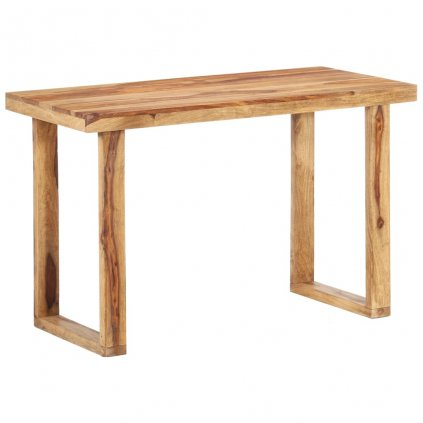 Jídelní stůl Almartis - masivní sheeshamové dřevo | 118x60x76 cm