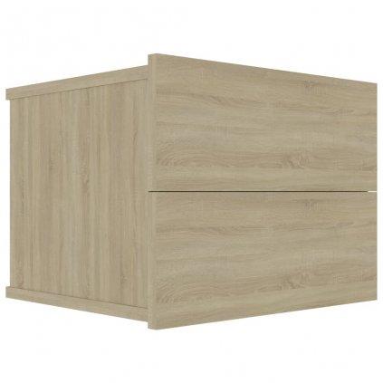 Noční stolek Noone - dub sonoma | 40x30x30 cm