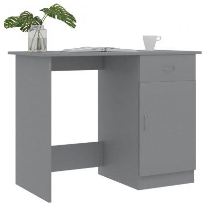 Psací stůl Reginall - šedý | 100x50x76 cm