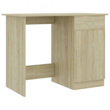 Psací stůl Oats - dřevotříska - dub sonoma | 100x50x76 cm
