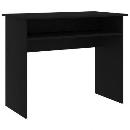 Psací stůl Carlisle - dřevotříska - černý | 90x50x74 cm