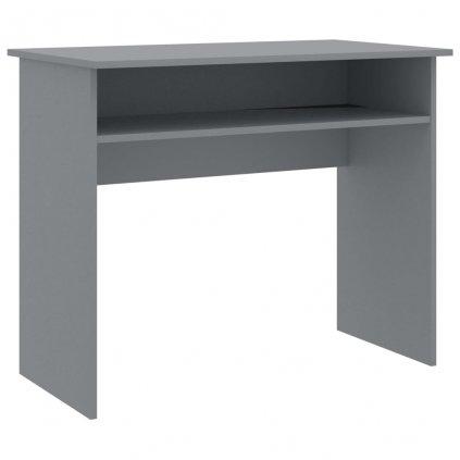 Psací stůl Shelley - dřevotříska - šedý | 90x50x74 cm