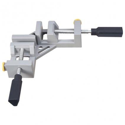 Rohová svorka dvojitá rukojeť - hliník   95 mm