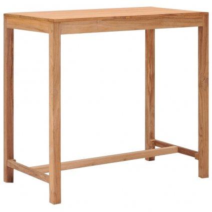 Zahradní barový stůl Protea - 110x60x 105 cm | masivní teakové dřevo