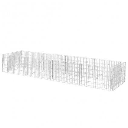 Gabionový truhlík - 360x90x50 cm | ocelový