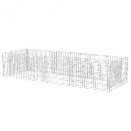 Ocelový gabionový truhlík | 270x90x50 cm