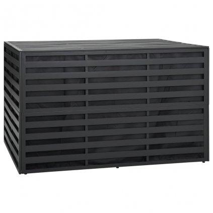 Zahradní úložný box - hliník - 150x100x100 cm | antracitový