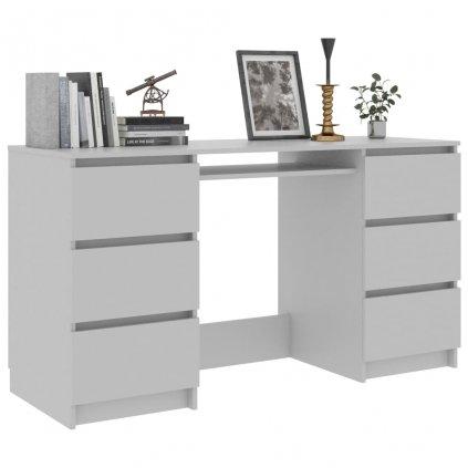 Psací stůl Nathan - šedý   140x50x77 cm