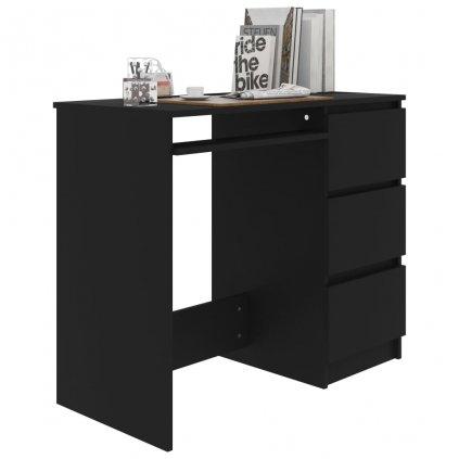 Psací stůl Seekers - černý   90x45x76 cm