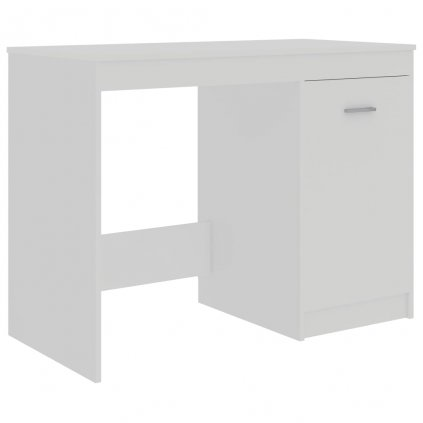 Psací stůl Cayman - dřevotříska - bílý | 100x50x76 cm