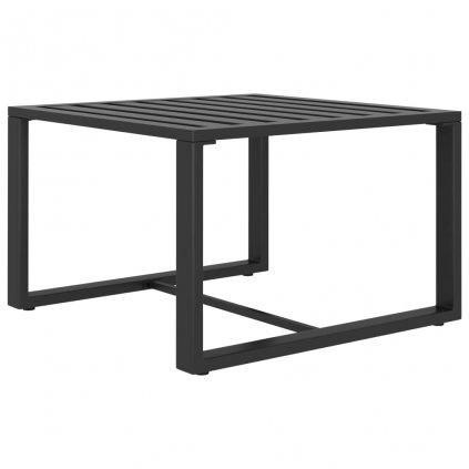 Konferenční stolek Kesha - hliník | antracitový