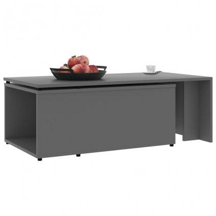 Konferenční stolek Grammer - šedý | 150x50x35 cm