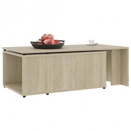 Konferenční stolek Grammer - dub sonoma   150x50x35 cm