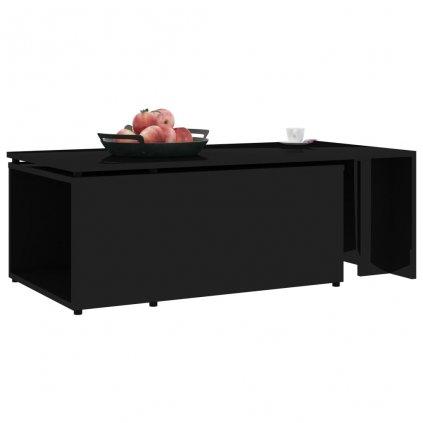Konferenční stolek Grammer - černý vysoký lesk | 150x50x35 cm