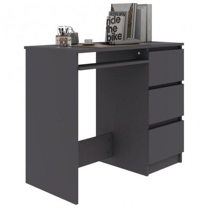 Psací stůl Jocke - šedý | 90x45x76 cm