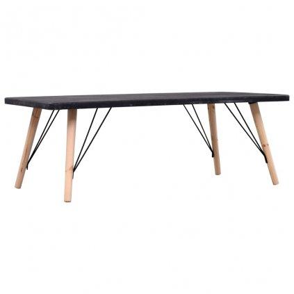 Konferenční stolek Jessey - betonový vzhled | 112x60x41 cm